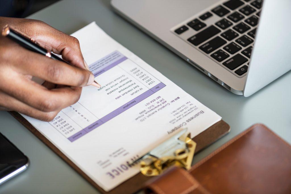 Pieniądze tabelka - oblicznenia pożyczka