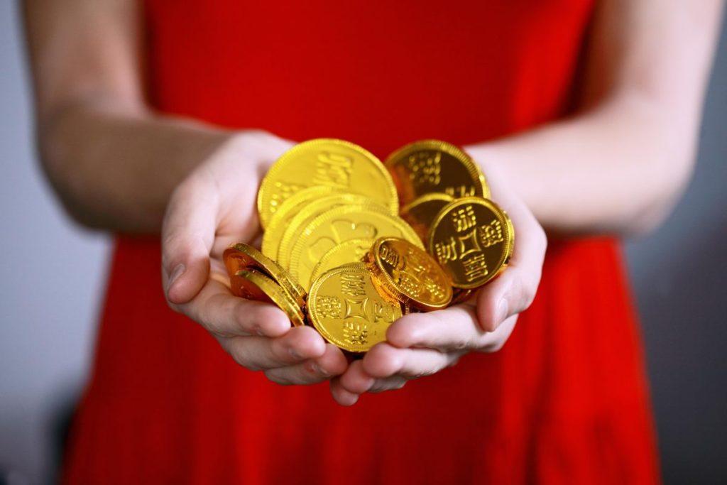 złote monety pożyczka